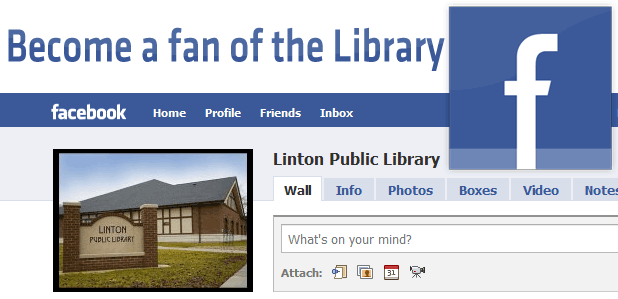 Become a fan of the Library