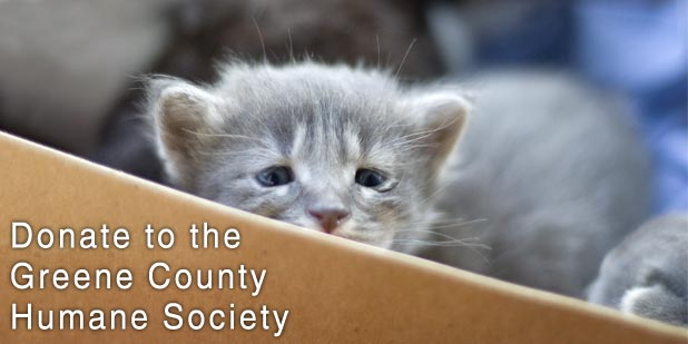 Donate To The Greene County Humane Society Linton Public Library