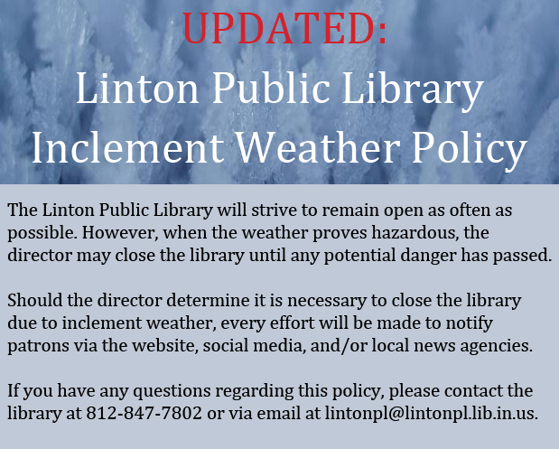 Inclement Weather Policy