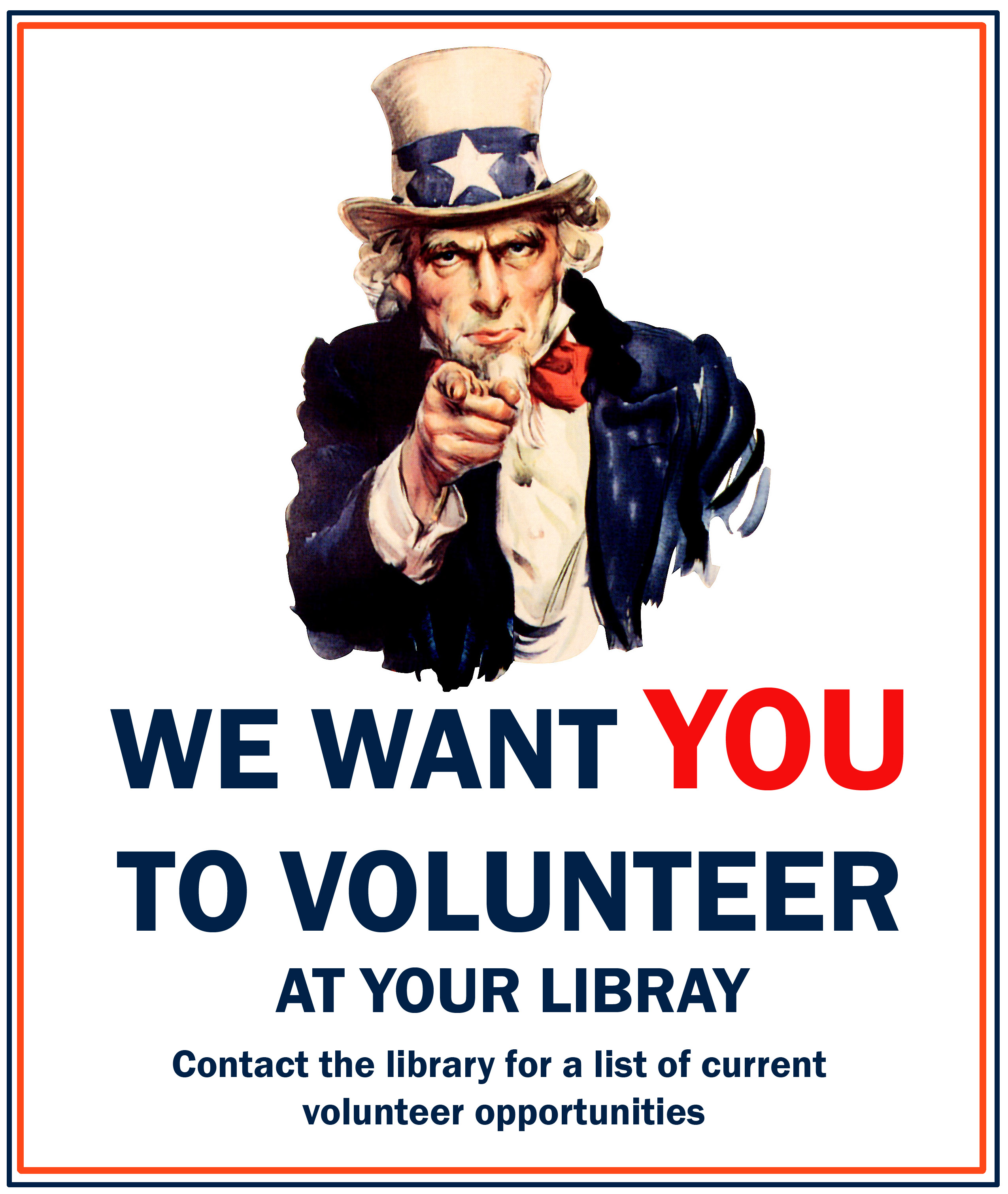 Volunteer @ Your Library