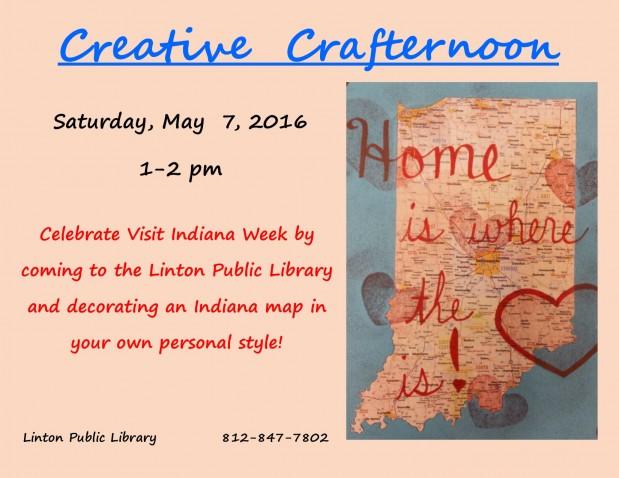 Creative Crafternoon-May