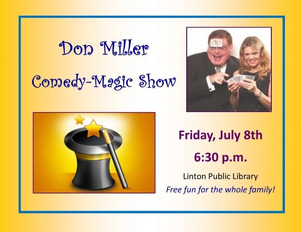 Don Miller Comedy-Magic Show