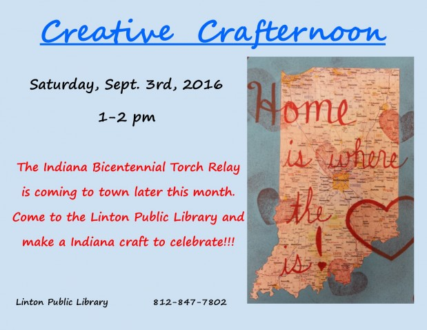 Creative Crafternoon September