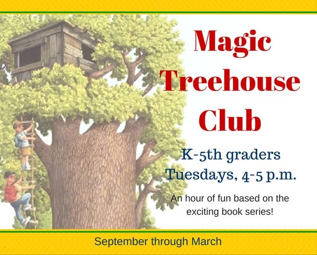 Magic Treehouse Club 2016