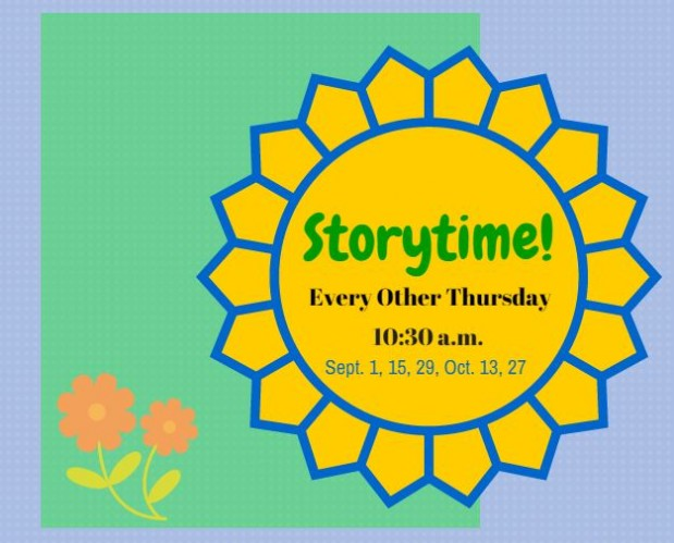 Storytime Fall 2016