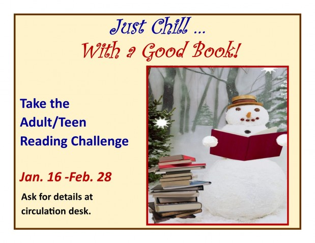 Just Chill Reading Challenge