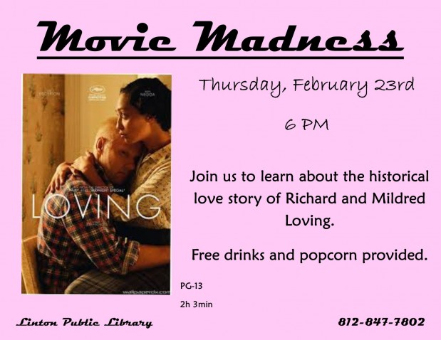 Movie Madness February 2017