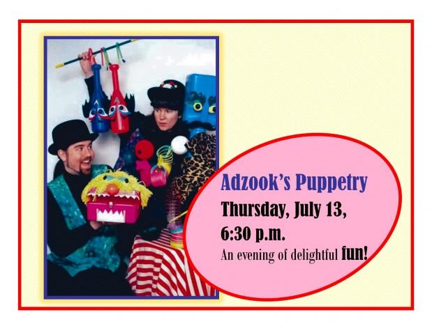 Adzook's Puppetry
