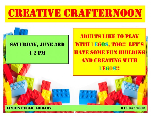 Creative Crafternoon June 2017