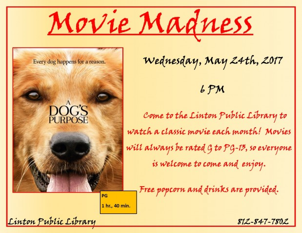 Movie Madness May 2017