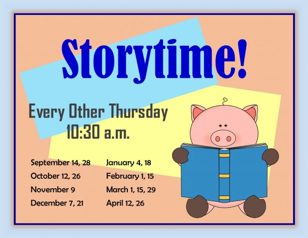Storytime 2017-18