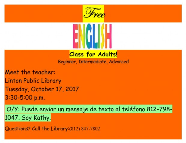 English Class for Adults
