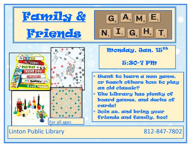 Family & Friends Game Night