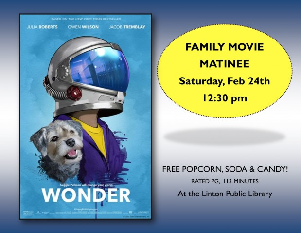 Family Movie Matinee February 2018
