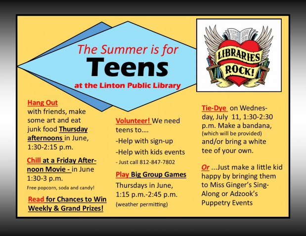 Summer Teen flyer 2018