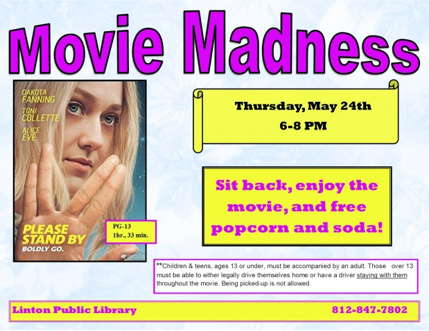 Movie Madness May 2018