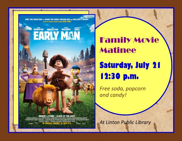 Family Matinee movie sign - July 2018