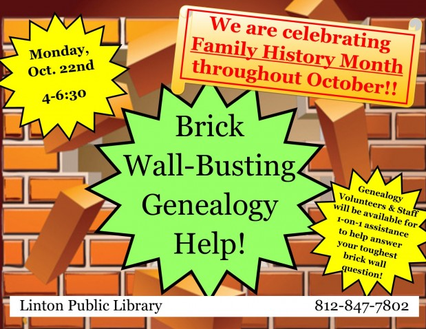 Brick Wall-Busting Genealogy Help