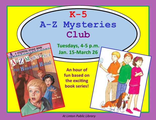 K-5 A-Z Mysteries Club