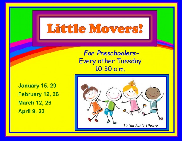 Little Movers Spring 2019