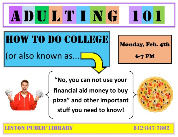 Adulting 101:How to Do College