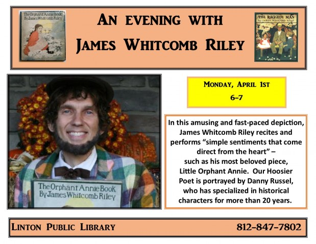 An Evening with James Whitcomb Riley