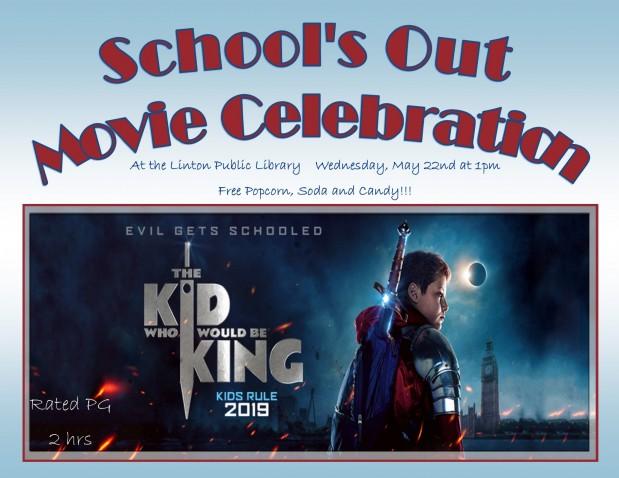 School's Out Movie Celebration 2019