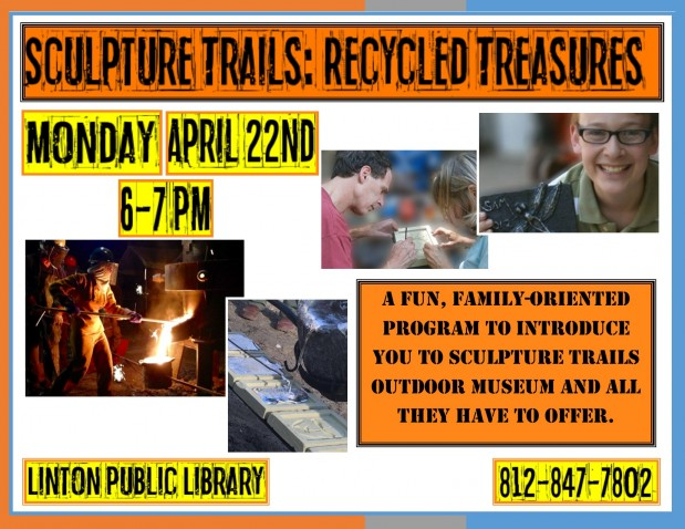 Sculpture Trails: Recycled Treasures