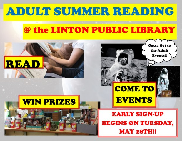 Adult Summer Reading 2019 Poster