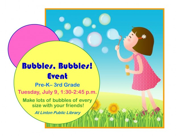 Bubbles, Bubbles! Event