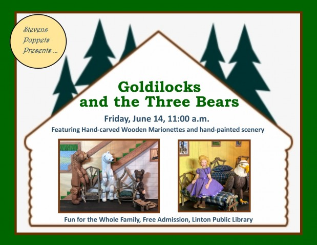 Goldilocks Puppet Show