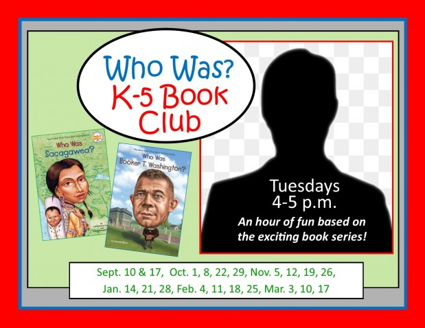 K-5 Who Was? Book Club