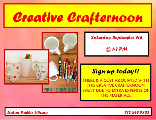 Creative Crafternoon Sept 2019