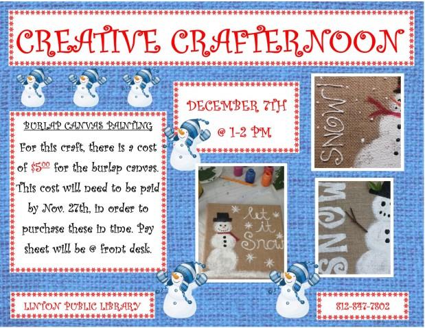 Creative Crafternoon