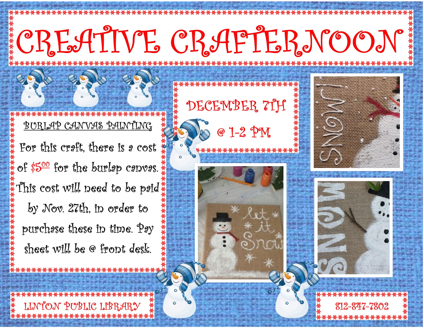 Creative Crafternoon