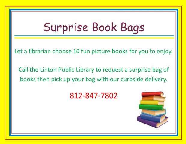 Surprise book bags