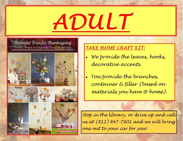 Adult Take Home Craft Kit