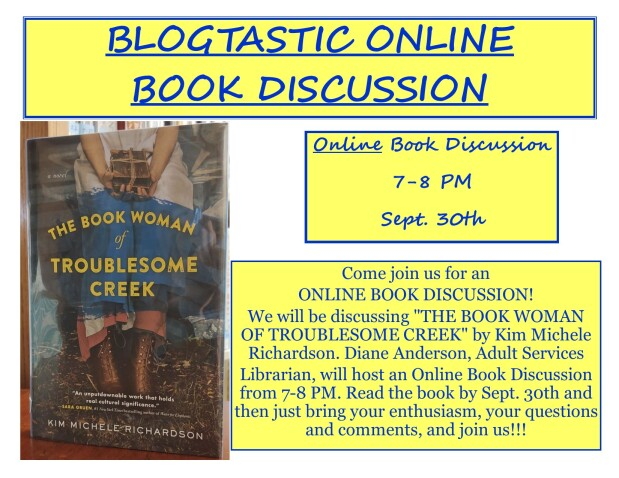 Blogtastic Online Book Discussion