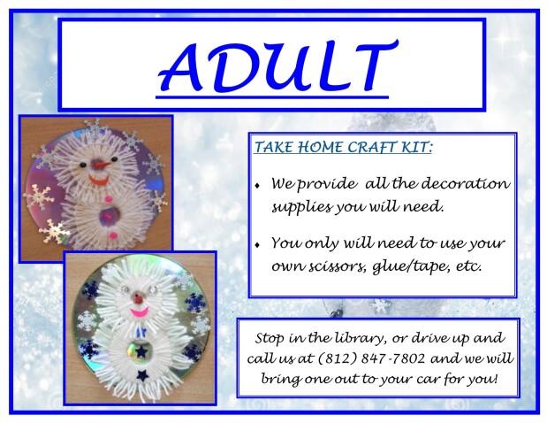 Snowman Take Home Craft
