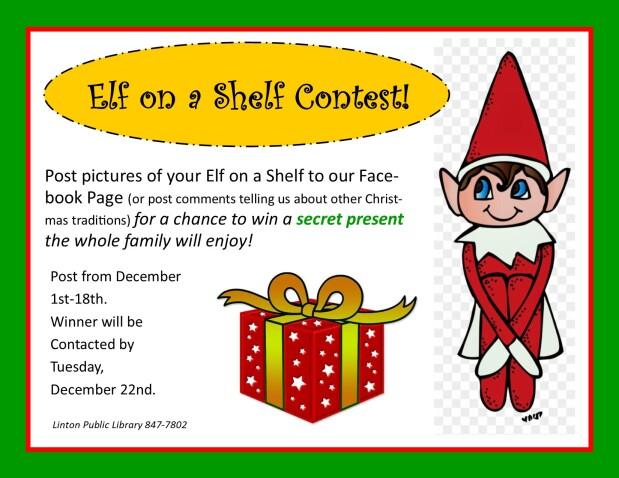 Elf on a Shelf Contest