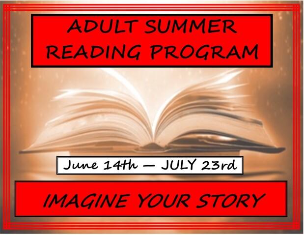 Adult Summer Reading Program 2021