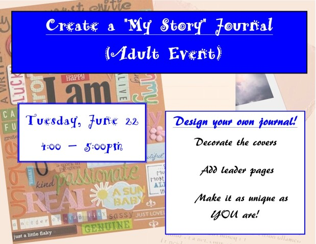 Create a My Story Journal
