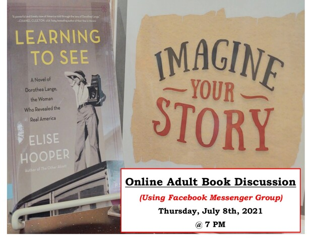 Learning to See Book Discussion