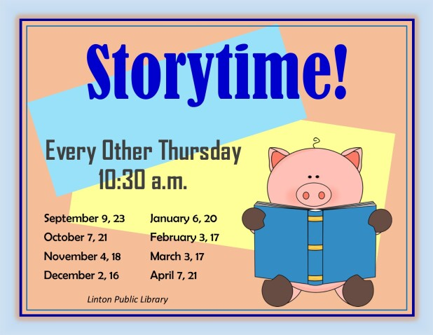 Storytime 2021 Fall