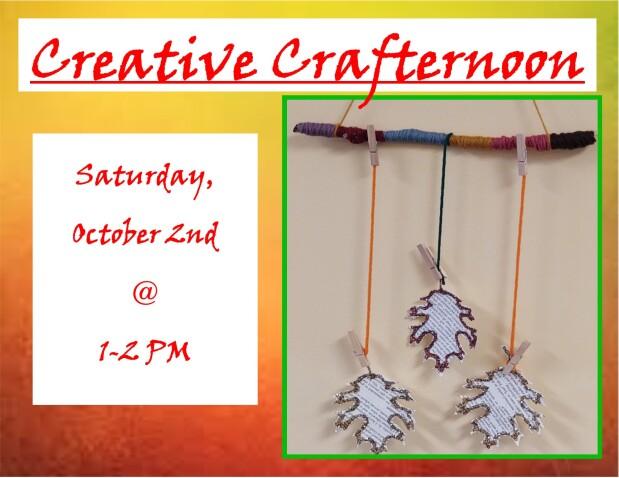 Creative Crafternoon Oct 2021