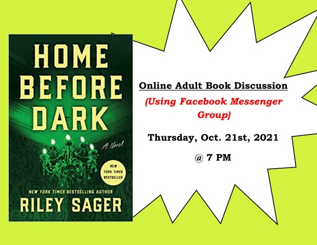 October 2021 Virtual Book Discussion